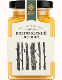 HONEY MEDOVIY DOM NOVGOROD FOREST